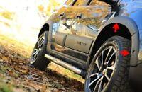 Für Dacia Duster II ab 10/2017 Kotflügel Abdeckung 8 tlg Schwarz