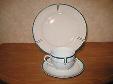 KAHLA *NEW* PETROL Set 1 Assiette plate 27cm + 1 Tasse avec soucoupe
