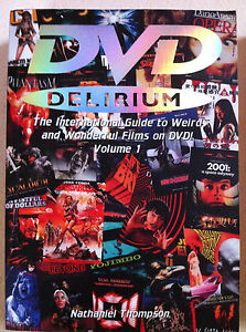DVD Delirium Volume 1 Book Nathaniel Thompson ~ 2002 Fab Press Cult Film Guide