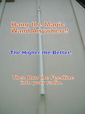 MAGIC WAND SHORTWAVE  ANTENNA! Great for SWL! Hang & Play!Listen to the World!