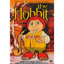 RARE RETIRED OOP RANKIN BASS THE HOBBIT ANIMATED MOVIE DVD 1977 re-released 1997
