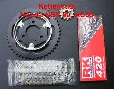 Kettensatz Honda NSR 50, NSR50, AC08, Kettenkit, 13-47-126, Moped, RK 420, neu