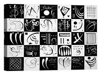 Wassily Kandinsky Trente Stampa su tela Canvas effetto dipinto