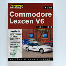Commodore Lexcen V6 1991-93 Gregory's Workshop Manual #261
