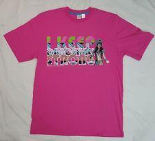 Nuevo Lemar and dauley Dancehall fuerte Camiseta camiseta en rosa Large L