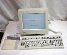 New Vintage Hp 700/60 C1080W Terminal w C3343-60201 Keyboard Boxed w Manual etc.