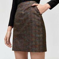 Womens Ladies Warehouse Rainbow Sparkle Partywear Pelmet Mini Skirt Sizes 6-18