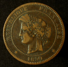 Frankreich, 10 Centimes 1890 A
