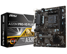 MSI a320m PRO-VD Plus - mATX Placa base AMD Conector AM4 CPU