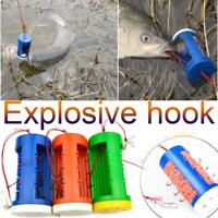 7# 8# 9# Bulk Bait Explosive Fishing Hook Sharpened Multi Hooks Tackle Durable