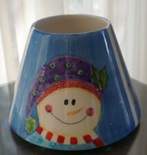 ~ Nwt Rare Oop Designer Maryanne Richmond Yankee Candle Holder & Plate Md 2034~