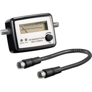 misuratore segnale puntatore parabola sat finder meccanico  wnt 67000
