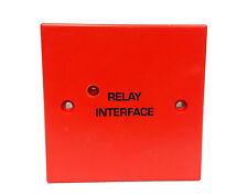 Alarme incendie-relais auxiliaire / interface - 24V 230V AC 8A dpco contacts-Rouge