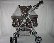 Hundekinderwagen / Hundebuggy Double Comfort braun 70 x 51 x 104 cm bis 20 kg