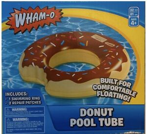 Wham-O Splash Donut Pool Float 8.1 x 2.2 x 7.5 inches