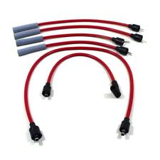 Taylor Spark Plug Wire Set 84270; ThunderVolt 8.2mm Red for Dodge 4 Cylinder