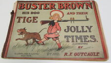 1905 Buster Brown, His Dog Tige And Their Jolly Times Comic - 1906