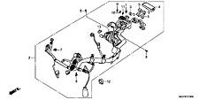 GENUINE HONDA VFR800 2011-2013 BRAND NEW SEALED COMPLETE WIRING LOOM HARNESS