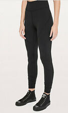 Lululemon Lab Essential Tight Flex Womens- Color Black Size 2
