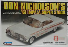 DRAG RACING DYNO DON 1961 CHEVY IMPALA SUPER STOCK SS 61 NHRA LINDBERG MODEL KIT