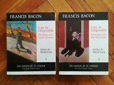 Francis Bacon et David Sylvester - L'art de l'impossible (Skira) Michel Leiris