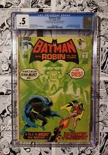 🔥BATMAN #232 CGC .5 First RA'S AL GHUL INCOMPLETE *Missing Centerfold KEY GRAIL