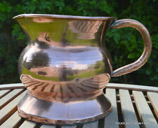 antique huge Copper French, late 19th century Handmade water jug stick brolly