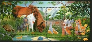 Australia 1996 Pets Mini Sheet Mint Unhinged