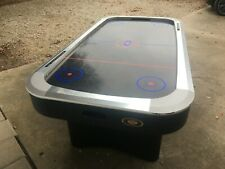 Black and Silver Tournament Choice Air Hockey Table - Great Condition!