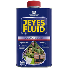 Jeyes Fluid Outdoor Cleaner & Disinfectant Hygene for Paths Patios Driveways 1 L