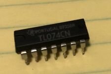 TL074CN Original Pulled Texas Inst. Integrated Quad Amp Circuit Made In Portugal