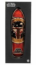 "Santa Cruz Star Wars Boba Fett Skateboard Deck 10.3"" x 31"" New Sealed"