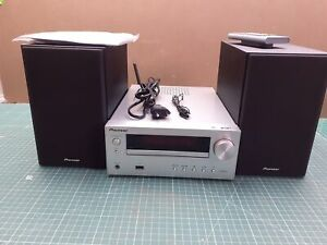 Pioneer X-HM36D (S) Microsystem Con Zweiwege-Boxen con Bluetooth, Conto V08693
