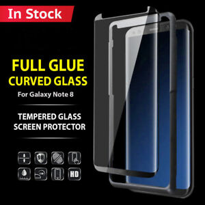 Full Glue Curved Case Friendly Tempered Glass Screen Protector fr Samsung Note 8