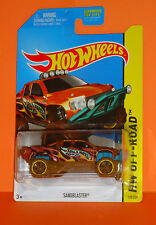 2014 HOT WHEELS OFF-ROAD #135 Sandblaster  - Anodized Hugger - K Mart - Variant