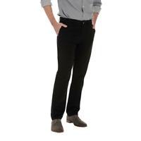 Men's Lee Weekend Flat Front Chino Pants Black Size 40 x 30