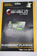 Zagg Invisible SHIELD Blackberry Playbook Screen Protector New Sealed Package