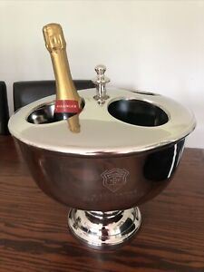 Bollinger Engraved Champagne Bucket Cooler. Slightly imperfect.