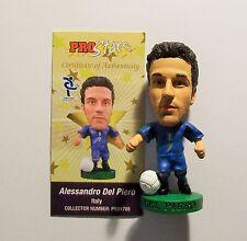 """PROSTARS ITALIA (home) DEL PIERO, pro1705 loose con carta di carta """"LWC"""""""