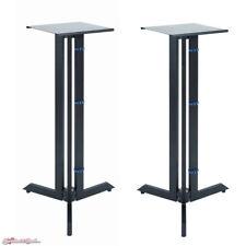 "QuikLok BS-536 Triple Column Near Field Monitor Stands 36"" Fixed Height Pair"