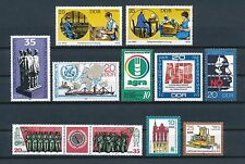 Germany DDR   MNH lot of Complete Sets and Singles, 1978-9