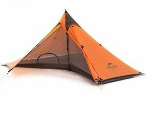Tarp Tent Ultralight Pyramid Outdoor Hiking Camping Tents Waterproof Fabric Tool