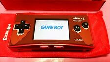 Used Nintendo Game Boy Micro Console Ac adapter pouch only Mother 3 Deluxe Box