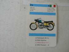 73-MOTORRADER 7C MOTO GUZZI V7 700 CC   QUARTETT CARD