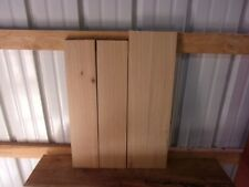 """4 PC RUSTIC HICKORY LUMBER WOOD KILN DRIED BOARDS 5/8"""" THICK LOT 1302R 1/4 SAWED"""