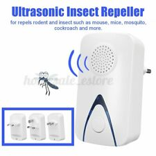 Ultrasonic Insect Repeller Electric Pest Mosquito Mice Bug Repellent Nigh