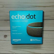 Amazon Echo Dot 3rd Generation w/ Alexa Voice Media Device Charcoal