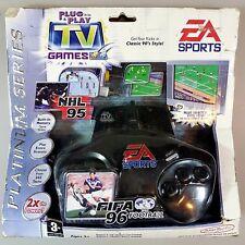 Jakks Pacific TV Game EA SPORTS NHL 95 / FIFA 96 Mega Drive PAL Ovp