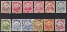 BERMUDA 1922-34 SHIP ISSUES TO 6D, FINE MINT, CAT £97
