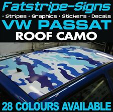 VW PASSAT CAMO ROOF GRAPHICS STICKERS STRIPES DECALS VOLKSWAGEN GTI R36 TDi 2.0